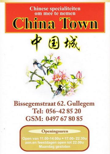 Chinese gerechten China Town